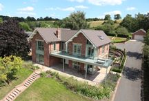 Self-Build Homes / Self Builds designed and built by CB Homes. #property #architecture #houses