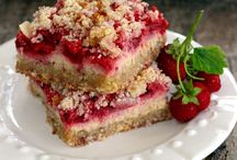 Strawberry crumb bar / Gluten free