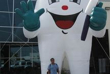 Inflatable Tooth / Promotional Inflatable Tooth for Dental Care