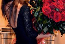 Red Roses!  / Pix of girl/boy with rose...
