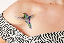 Aquarell Tattoo