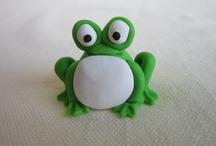 fimo frog