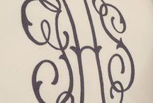 Monograms!! / by Sharon Fleishman