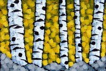 Tiny Landscape Paintings