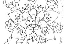 Coloring pages Väristyskuvat
