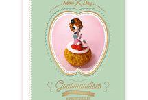 GOURMANDISES / Livre de recettes Pâtisseries http://livre.fnac.com/a7966022/Vincent-Guerlais-Gourmandis