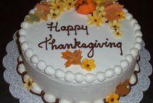 Autumn, Halloween, Thanksgiving cakes