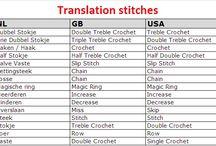 Crochetting / Everything crochetting
