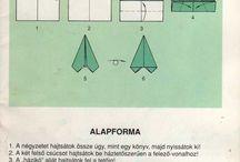 Alap fogalmak origami