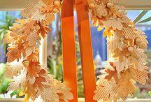Fall / Seasonal fall decorating, crafts, accessories, ideas.