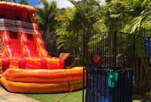22ft Dual Lane Keahi water Slide / Bounce houses from Hi Jump Inflatable BounceHouse Rentals LLC.
