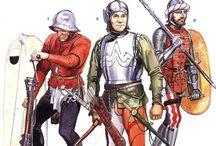 Italian Troops 14-15 century