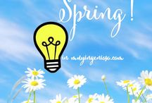 SPRING & PRIMAVERA / Spring is coming! :) Ya llega la primavera! :P / by muy ingenioso