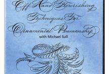 Calligraphy-Flourishing / by Allene Nicolai