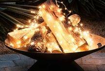 Χριστούγεννα fireplace