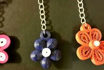 Quilling Key Chains