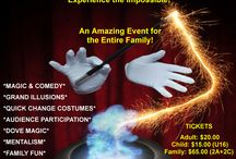 Adelaide Magic - Events / This board is to let you know about public event Magic Shows.