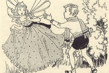 Childhood Nostalgia / Vintage Art