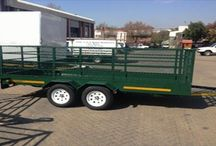 Commercial trailers / All of our trailers are constructed to meet your individual requirements.  Take a look at our commercial range.