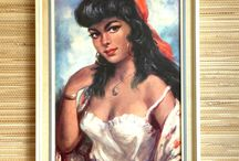 Kitsch paintings