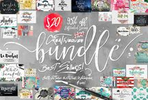 Best Branding Resources / My favorite graphics, fonts, colors & inspiration