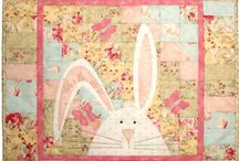Easter quilts etc