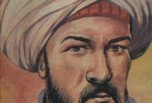 KATİP ÇELEBİ☾☆☾☆ / Kâtip Çelebi ya da Hacı Halife (Şubat 1609, İstanbul - 6 Ekim 1657, İstanbul), tarih, coğrafya, bibliyografya ve biyografya ile ilgili çalışmalar yapmış Türk-Osmanlı bilim adamı ve aydını.  İslam dünyasının en değerli eserlerini içeren 15.000 kitabı ve 10.000 müellifi (yazar) alfabetik dizin sistemine göre tanıtan Keşf ez-zunûn 'an esâmî el-kutub ve-l-fünûn ve daha sonra İbrahim Müteferrika tarafından basılan meşhur coğrafya ansiklopedisi Cihannüma ile tanınır.