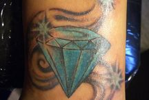 Sandy / Diamanten tattoos