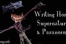 Genre - Horror, Supernatural & Paranormal   Writing Craft / Tips and techniques for crafting or writing the Horror, Supernatural or Paranormal genre.