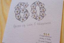 Aarlotte Designs Milestone Anniversary Cards