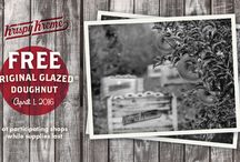 #DoughnutHarvest / The Doughnut Harvest Celebration takes place this Friday (4/1/16) at participating Krispy Kreme locations.  Come enjoy a FREE Original Glazed doughnut. Learn about the doughnut growing process. And experience first-hand the harvest tradition which, until this year, was a celebration reserved only for growers and their families. / by Krispy Kreme