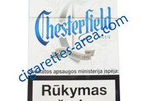 CHESTERFIELD cigarettes / CHESTERFIELD brand cigarettes