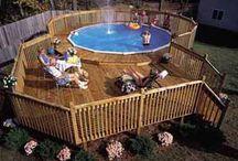 Pools & Decks & Porches / by Hopie Waterman