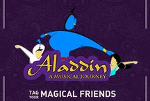 Alaadin / the Magic of #ArabianNights with Music and humour  #theatreplay#humour