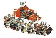 Dokumentacja morska - Plany,schematy statków