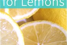 uses of lemons