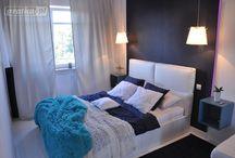 sypialnia + garderoba