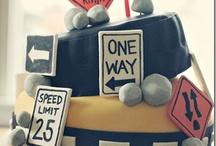 Camden's truck birthday party / by Sarah Mauzey-Needham