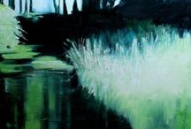 Art Gallery Marzena Camila Wojtkiewicz / art, oil painting, acrylic painting, abstraction, landscapes paintings,  landscapes , nature