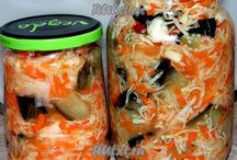 салаты и закуски в зиму