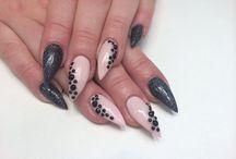 Stilettonails by me / @nailedbyamanda