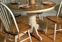 Oak dining tables & Renovation