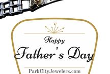 Father's Day Jewelry / Park City Jewelers features pieces for dads.  This board hosts all of the special products for Father's Day!