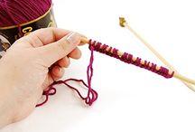 knitting..