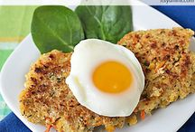 Grains / Quinoa chick pea patties