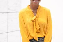 Yellow Outfits / Inspiration for incorporating yellow into your wardrobe | Yellow Outfits | Yellow Outfits Women | How to Wear Yellow | Mustard Yellow | Mustard Yellow Outfits | Mustard Yellow Style