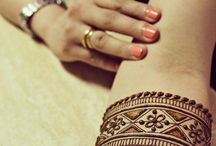 Henna and body paint