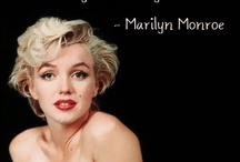 marilyn monroe / here is the one thing that I love. the one and only: Marilyn Monroe
