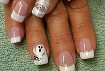 Hallowe'en nails