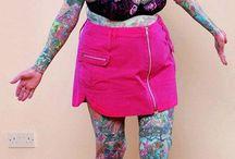 Tattoos, Henna & Old Heads